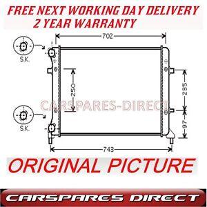 VW-Touran-1-6-2-0-03-gt-06-NUEVO-Hombre-Auto-Radiador-2-anos-garantia