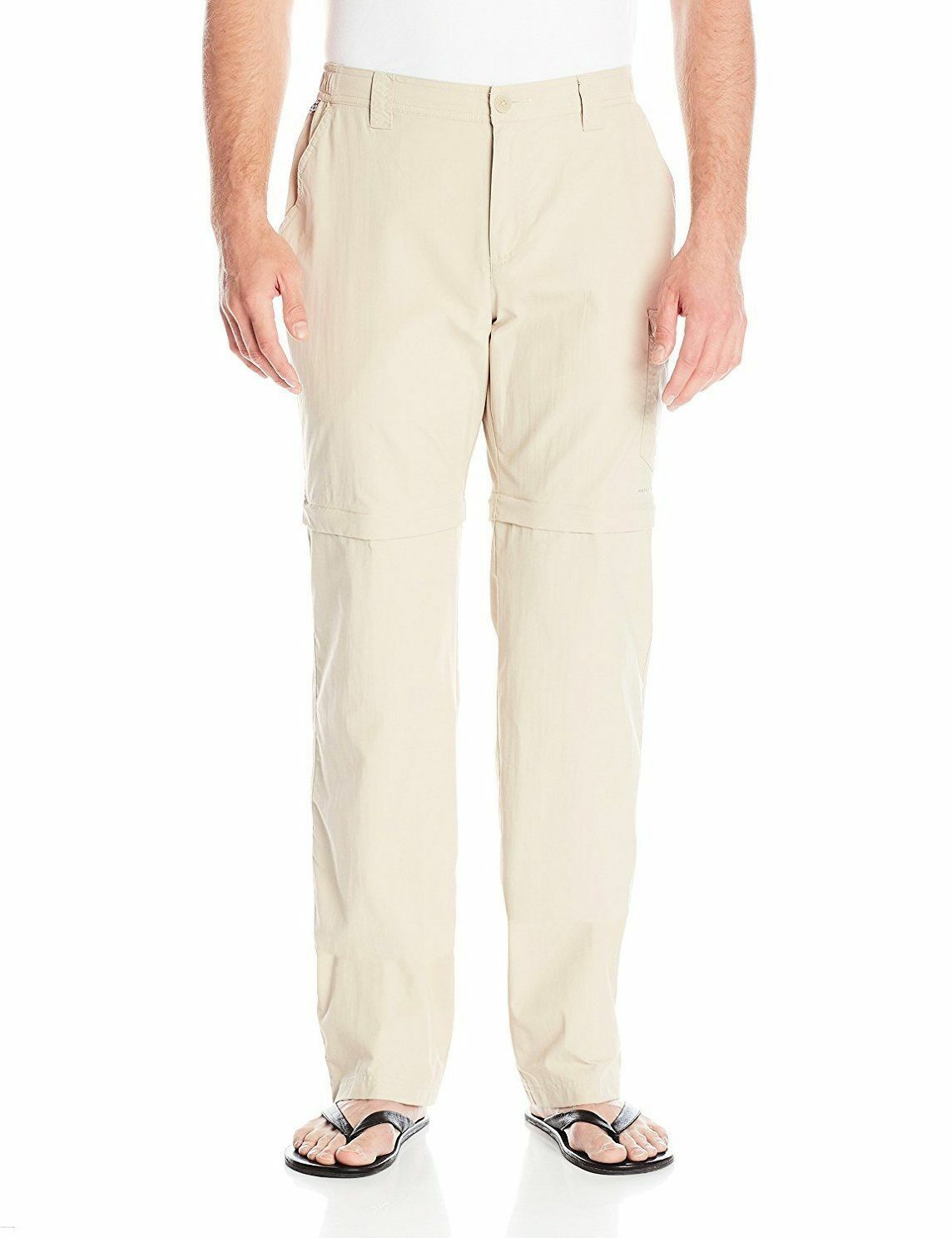 NEW Columbia men's Blood and Guts III Congreenible pants FOSSIL, Inseam 32