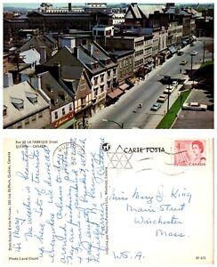 CANADA-Postcard-Quebec-De-La-Fabrique-Street-B18
