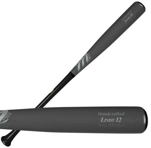 "Marucci Fransisco Lindor 33/"" adulte bois Batte De Baseball Noir//Fumée mveilindy 12-BK"