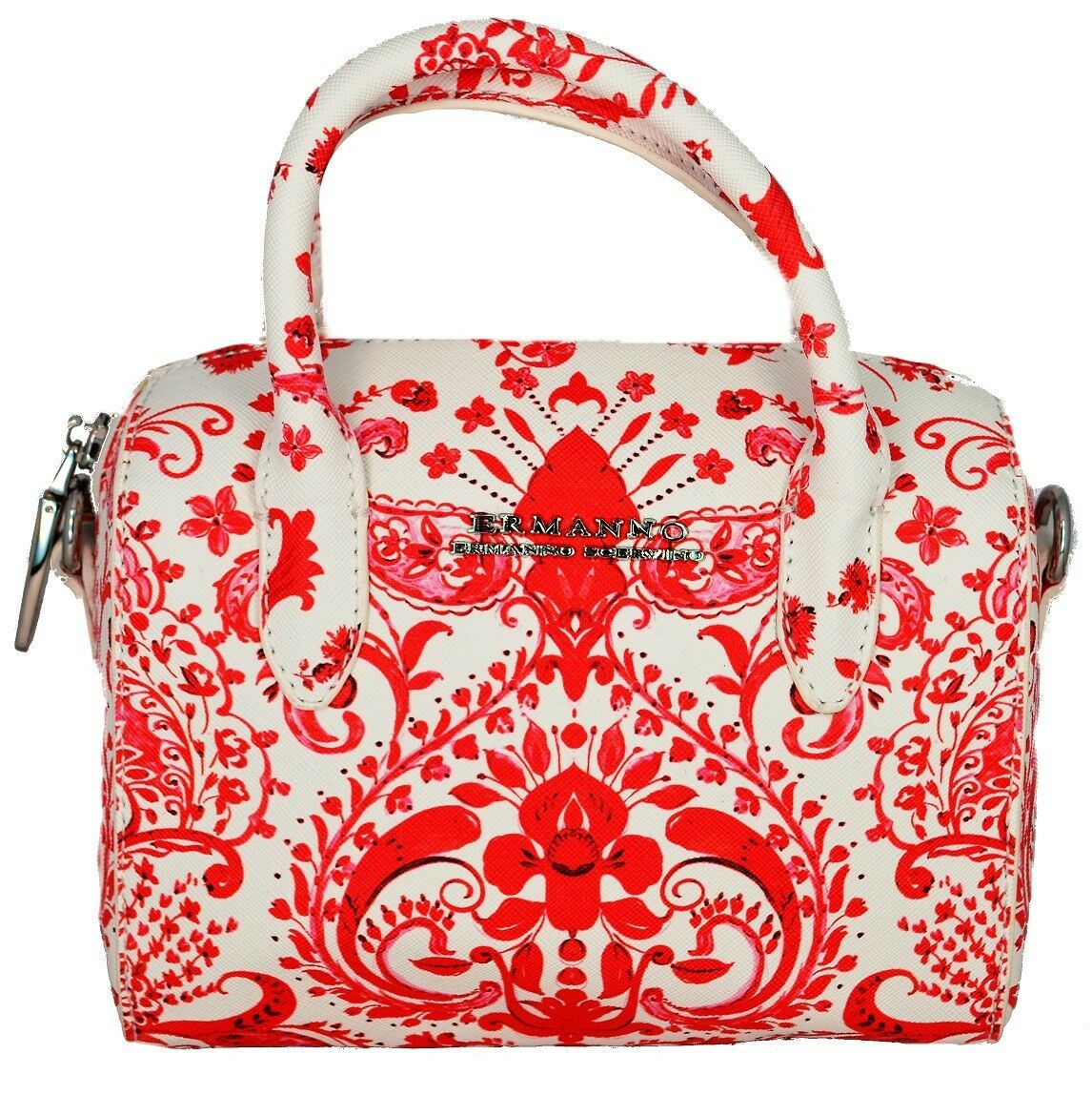 Tasche Handtasche Tasche Frau Koralle Ermanno Scervino Bag Frau Orange Linea Co
