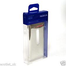 NEW Genuine Nokia Lumia 800 Hard Cover Case CC-3032 Silver Metallic NEW Original