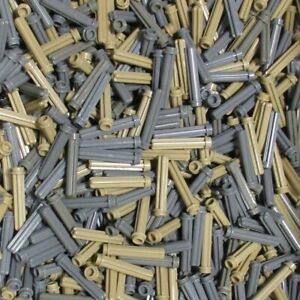 Used-LEGO-500g-Packs-Technic-Axles-6587-Technic-Achse-3-mit-Noppe