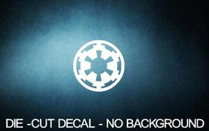 Galactic-Empire-4-034-WHITE-Vinyl-Sticker-Decal-Car-Truck-window-star-wars-laptop