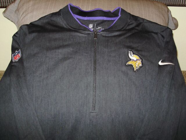 b7bbefd4 Frequently bought together. NFL Minnesota Vikings Nike Dri-Fit Black Coaches  ...