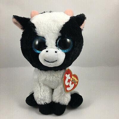 "TY Beanie Baby 6/"" Ferdinand the Bull Plush Stuffed Animal w// MWMT/'s Heart Tags"