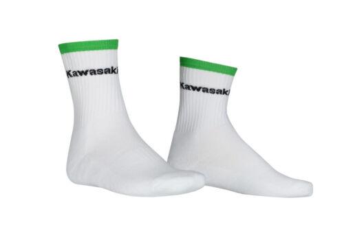 Socken Kawasaki SPORTS SOCKS SHORT WHITE Neu Orginal 31-46    160SPM0013-16