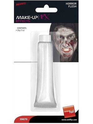 Das Beste Unisex Weiß Horror Fleisch Halloween Gesichtsfarbe Make-up FlÜssiger Latex Skin Kaufen Sie Immer Gut
