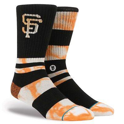 NEW SAN FRANCISCO GIANTS BASEBALL STANCE BRAND SOCKS WILLIE MCOVEY SMALL MEDIUM