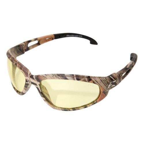 Edge Eyewear SW112CF Dakura Safety Glasses Camo Frame Yellow Lens