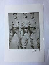 Andy Warhol Litografia 57 x 38 Arches France Timbro Secco Galleria Arte A113