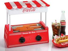 Hot Dog Roller And Warmer 8 Regular Sized Or 4 Foot Long Hot Dogs 6 Bun Capacity