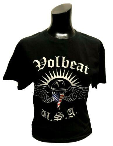 Volbeat USA New York April 9 2013 Concert T Shirt