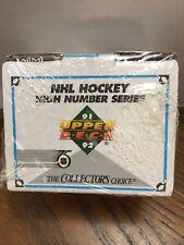 9x 1991-92 Upper Deck Hockey High Number Factory Sets. 200 Cards per Set