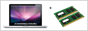 "2x4GB di memoria RAM Di Aggiornamento Apple MacBookPro 6.1 Mid 2010 17/"" Core i5 2.53GHz 8GB"