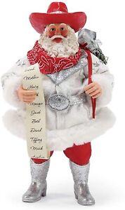 Dept 56 Possible Dreams Rhinestone Cowboy Santa 6003440