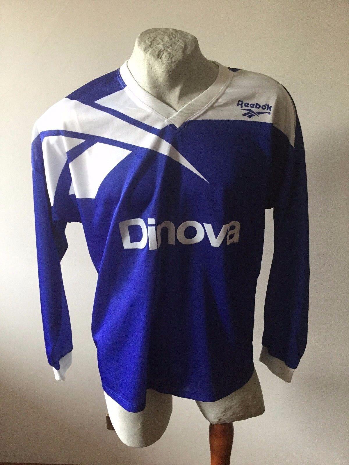 Alemannia dinova trikot maglia calcio reebok  jersey football shirt vintage