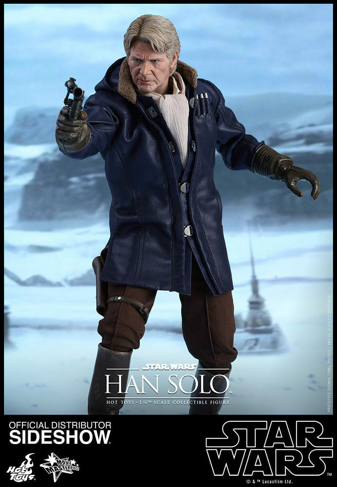 STAR WARS  EPISODE VII – HAN SOLO 1 6 Action Figure 12″ HOT TOYS