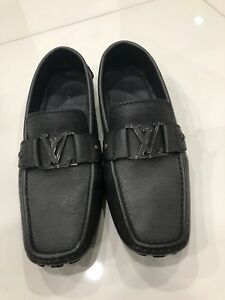 Louis Vuitton Monte Carlo Car Shoe Black Uk And Usa EBay - Car shoe usa