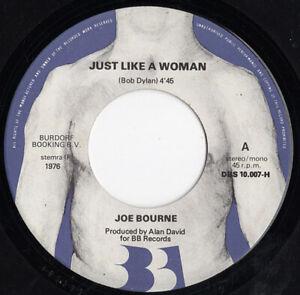 JOE-BOURNE-Just-Like-A-Woman-Bob-Dylan-Love-Don-039-t-Come-Easily-Girl-1976