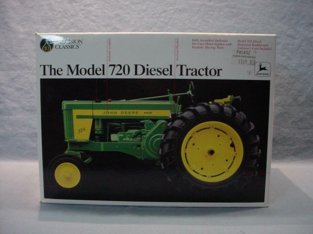 ERTL John Deere Precision Classics Classics Classics Model 720 Diesel Tractor NIB dfa59a