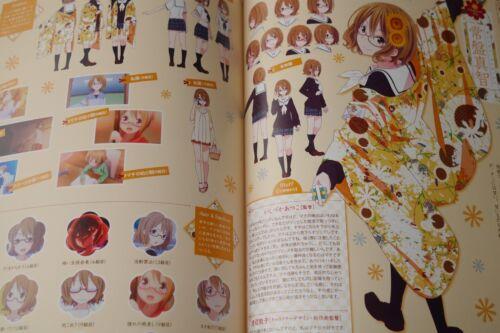 "JAPAN Hanayamata TV Animation Official Guide Book /""colorful flowers/"""