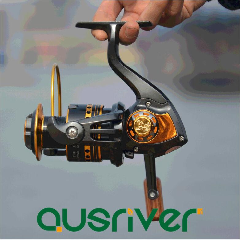 11BB Ball Bearing Saltwater Freshwater Spool Spin Spinning Fishing Reel 5.0 1