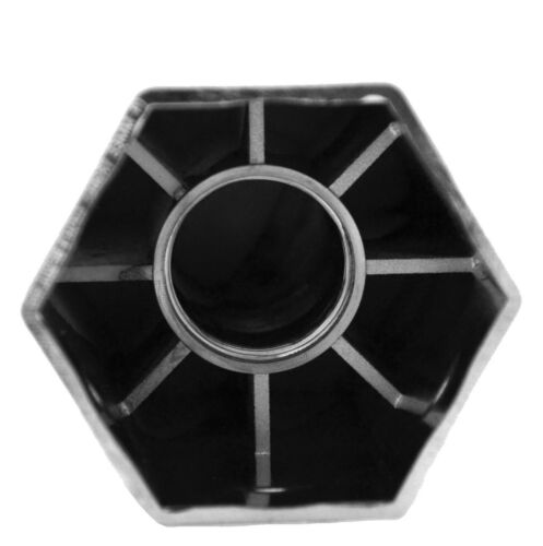 """GG Lug Nut Covers 33 mm Screw-On Hex Flat Top Plastic 3/"""" Tall #10238 Set of 5"""