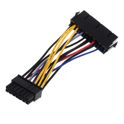 24Pin 24P to 14Pin ATX power supply cord adapter cable for lenovo ibm dell/_DM