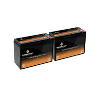 12v 10ah Sla Battery For Electric Scooter Schwinn S180 / Mongoose - 2pk on sale