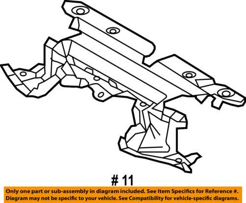 TOYOTA OEM RAV4 Radiator Core Support-Sight Shield Splash Cover Panel 166810V040