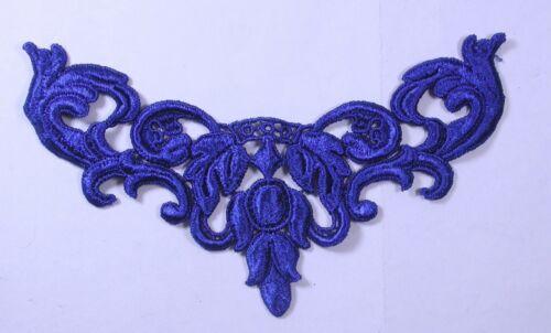 Royal Blue Venise Yoke x 1 piece