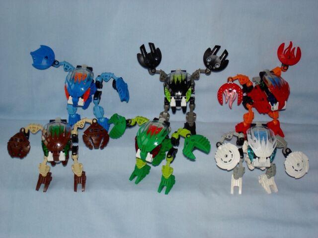 C40 Lego 8562 Bionicle Mata Nui Bohrok Gahlok complet de 2002