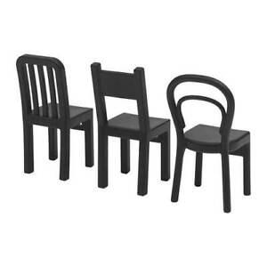 IKEA-FJANTIG-Black-Chair-Wall-Hooks-3-Pack-Multi-Buy-Discount