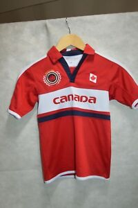 MAILLOT-HOCKEY-SUR-GLACE-TEEPEE-SPORT-EQUIPE-CANADA-TEAM-T-2-4-ANS-JERSEY-TBE