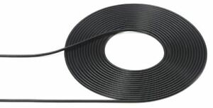 Tamiya-Detail-Up-Parts-2m-Black-Cable-0-5mm-Outer-Diameter-12675