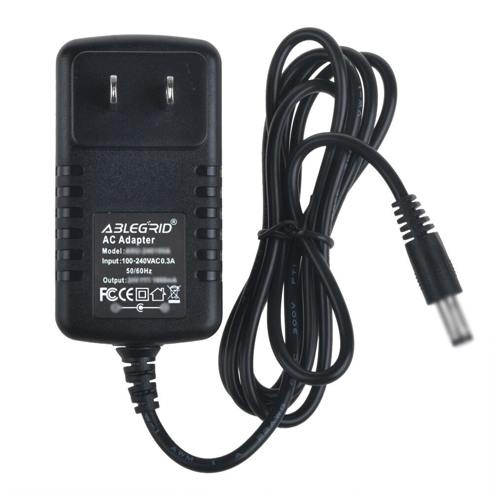 AC Converter Adapter for 12V 700mA 0.7A Power Supply Charger DC 5.5mm x 2.1mm