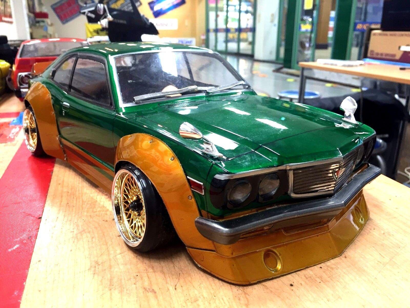 ABC HOBBY RC 1/10 SAVANNA COUPE GT BariBari CUSTOM Clear Body Drift 66160