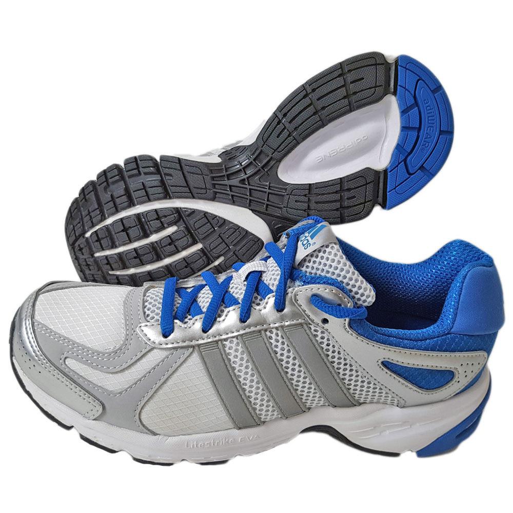 Adidas Duramo Chaussures Chaussures De Course Baskets Jogging unisexe blanc-bleu-