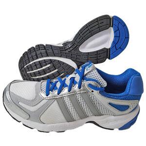 Adidas-Duramo-Schuhe-Laufschuhe-Turnschuhe-Jogging-Unisex-Weiss-Blau