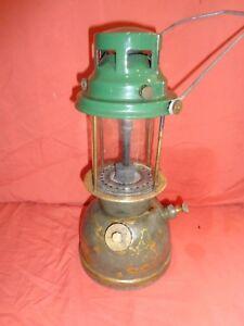 Camping & Outdoor 1950s Bialaddin T10 Vapalux Paraffin Oil Kerosene Table Lamp Antique Lantern