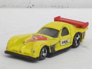 Panoz GTR-1 Rennwagen in gelb Dekorstreifen, o.OVP, Hot Wheels, 1:64 - Birkenhain, Deutschland - Panoz GTR-1 Rennwagen in gelb Dekorstreifen, o.OVP, Hot Wheels, 1:64 - Birkenhain, Deutschland