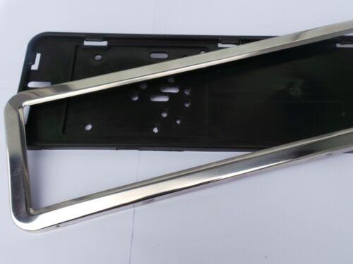 VW Crafter 30-50 2e 2006-2019 BOX 2x PORTATARGA in Acciaio Inox