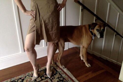 Beige Vintage Donna Karan Skirt