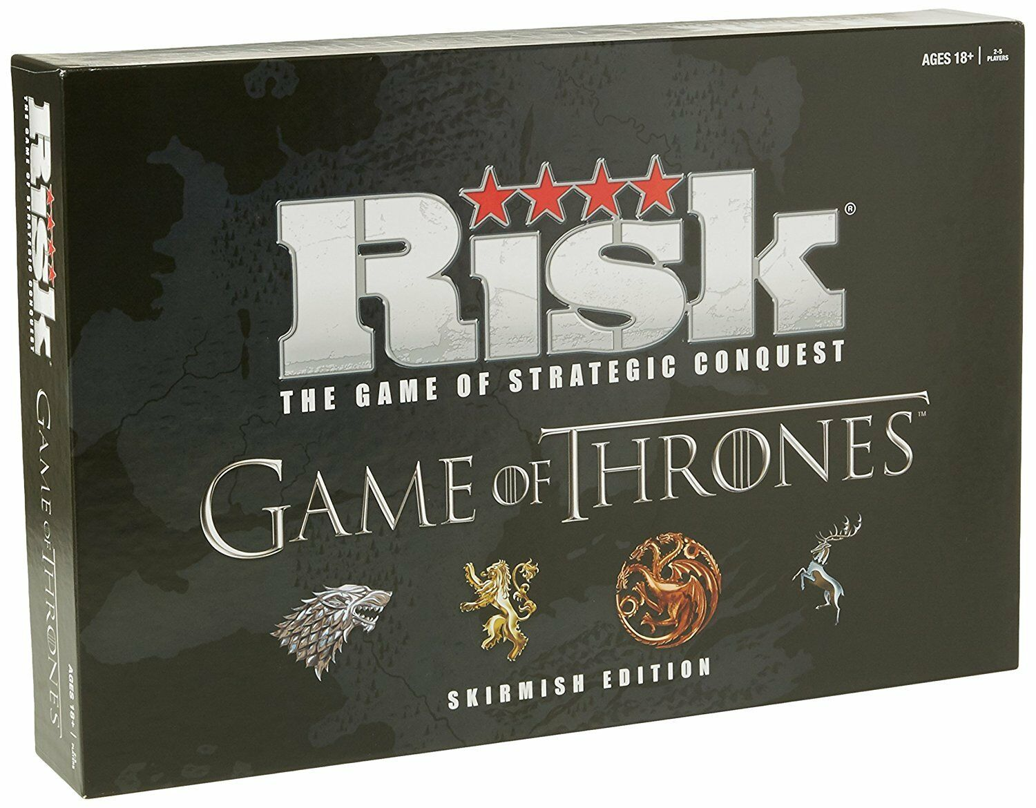 Game of Thrones Risk Board Game - Skirmish Edition New Sealed