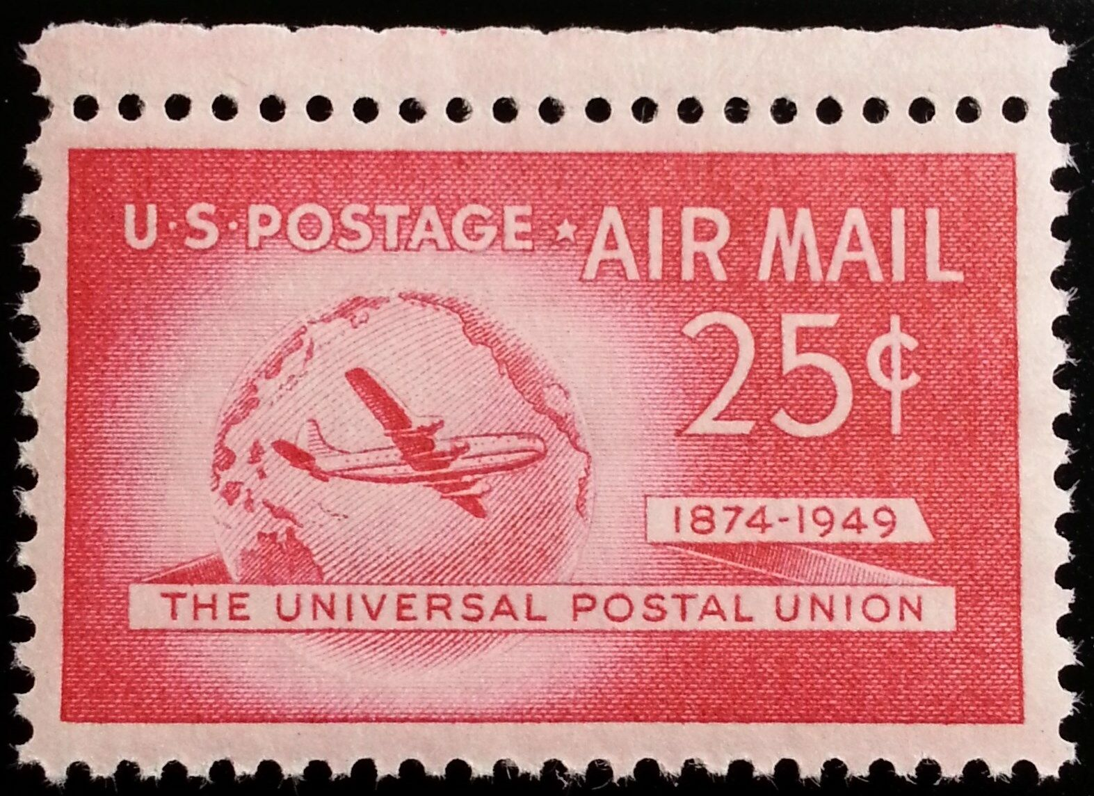 1949 25c Stratocruiser, Universal Postal Union Scott C4