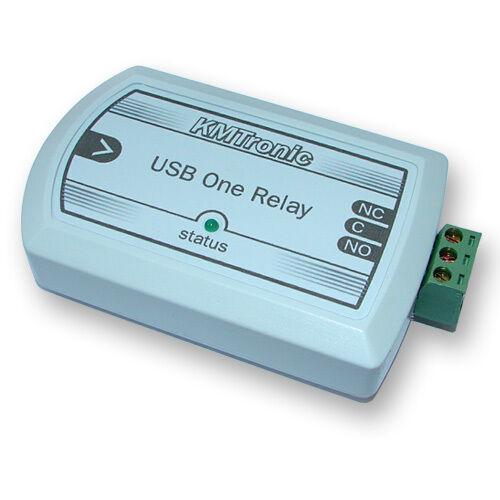 KMTronic USB Un Channel Relay pour MACH3 CNC software BOX