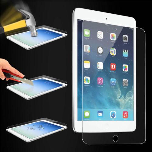 Premium Tempered Glass Film Screen Protector for Apple iPad 6 5 4 3 2 Mini Air 1