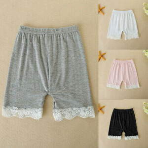 Toddler-Children-Kid-Baby-Girls-Solid-Lace-Safety-Pants-Shorts-Underwear-Clothes