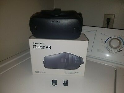 Black USB-C Samsung Gear VR 2 Oculus Virtual Reality Headset 2016 SM-R323 Blue